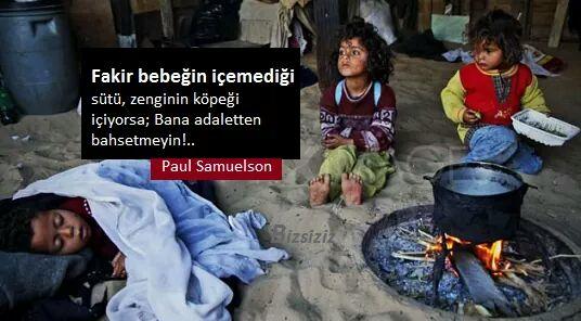 adaletten bahsetmeyin p samuelson