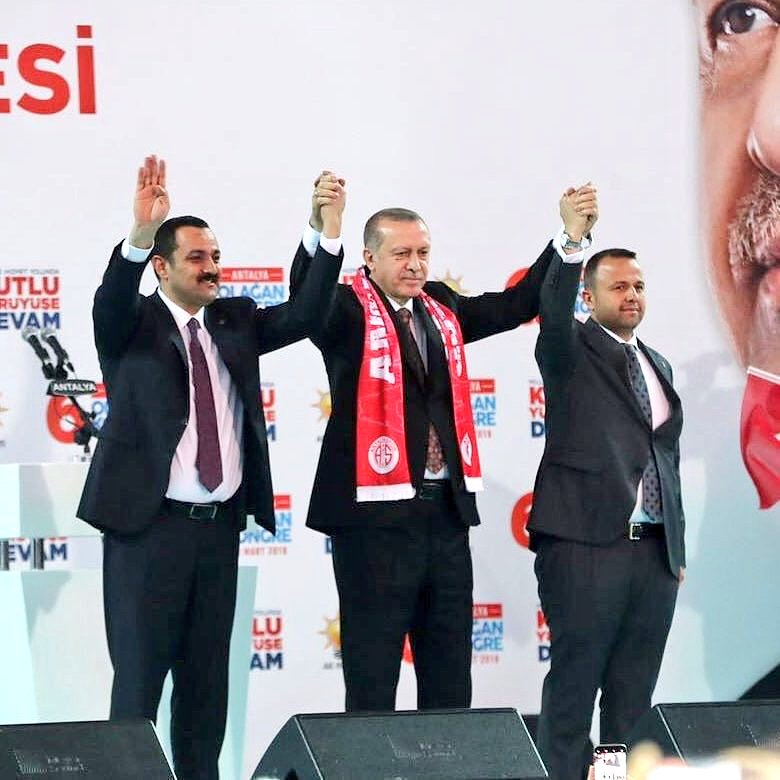 Cumhurbaşkanımız @RT_Erdogan ın katılımıyla gerçekleştirilen #AKPartiAntalya 6.Olağan kongresinde İbrahim Ethem Taş, il delegelerinin kullandığı oy sonuçlarına göre İl Başkanı olarak seçilmiştir. Partimiz ve Antalyamız için hayırlara vesile olsun. @ethemtas
