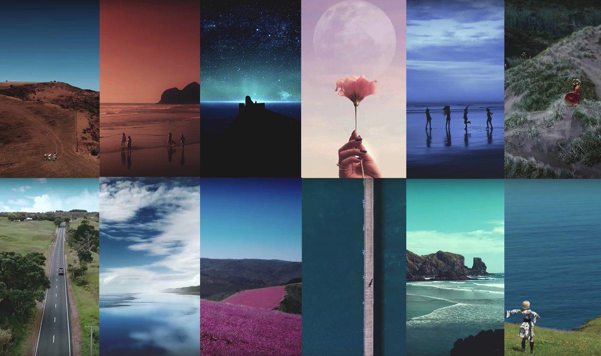 Tgc On Twitter Pics Mamamoo 별이 빛나는 밤 Starry Night