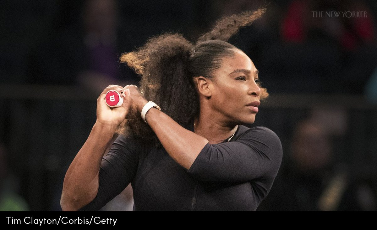 The New Yorker's photo on Serena Williams