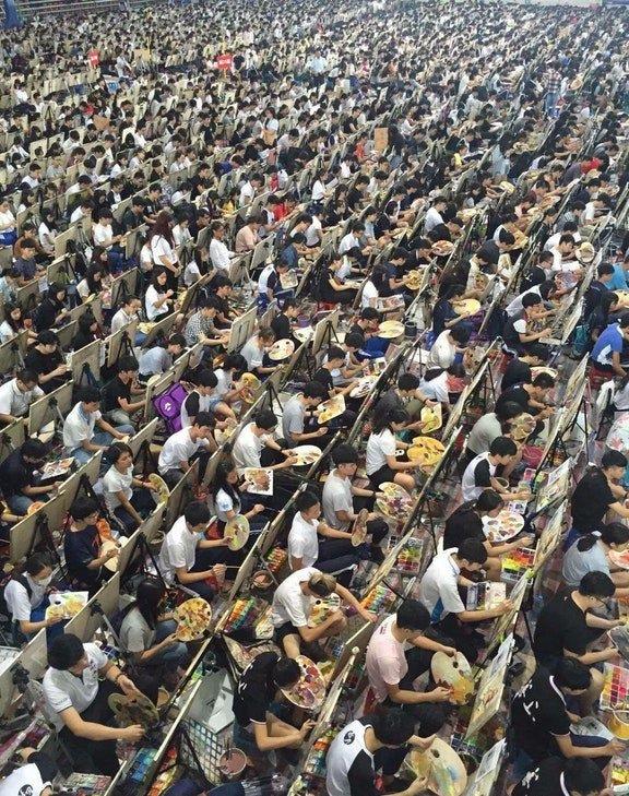 中国の美大入学試験が引くほどスケールデカい
