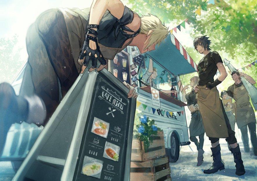 レガリアtype-K(キッチンカー)で全国を巡る!15コラボカフェいぎたい…出張してきて…の気持ちが強する絵