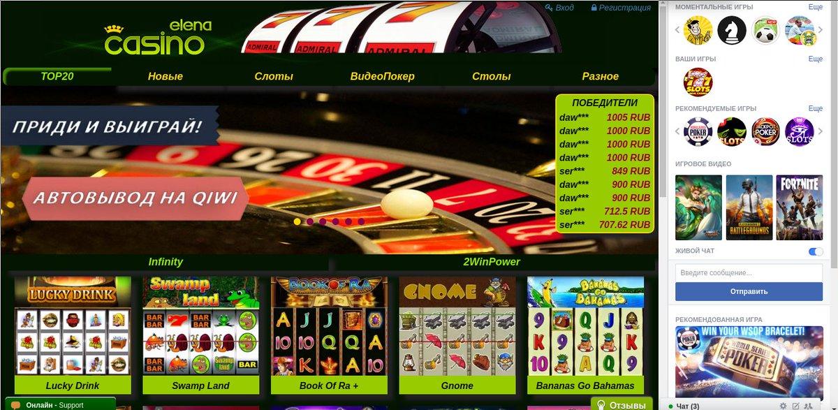 Игровые автоматы бесплатно elencasino
