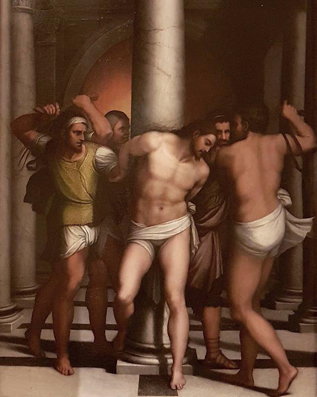#SebastianoDelPiombo #FlagellationOfChrist #OilOnWood @galleriaborgheseufficiale #painting #Rome https://t.co/deAFiQ65J2