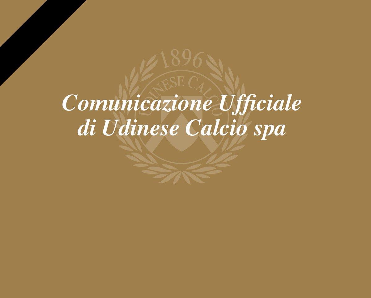 Udinese Calcio è profondamente colpita dalla tragica e improvvisa scomparsa del Capitano di ACF Fiorentina Davide Astori. Ci stringiamo attorno alla famiglia, agli amici, ai compagni di squadra e a ACF Fiorentina in questo momento, a tutti loro le nostre più sentite condoglianze