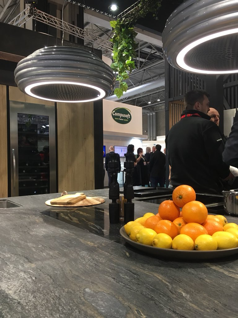 Nice to see a wide variety of natural stone on the @caple stand @kbblive today! #granite #quartzite #naturalstone