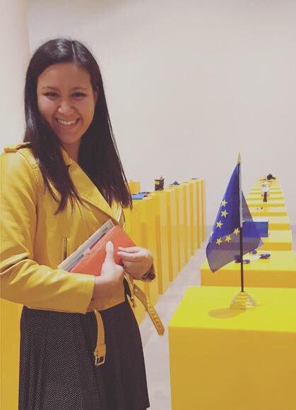 Nu som international sekretær i Europæisk Ungdoms landsbestyrelse 🇪🇺 #EULM