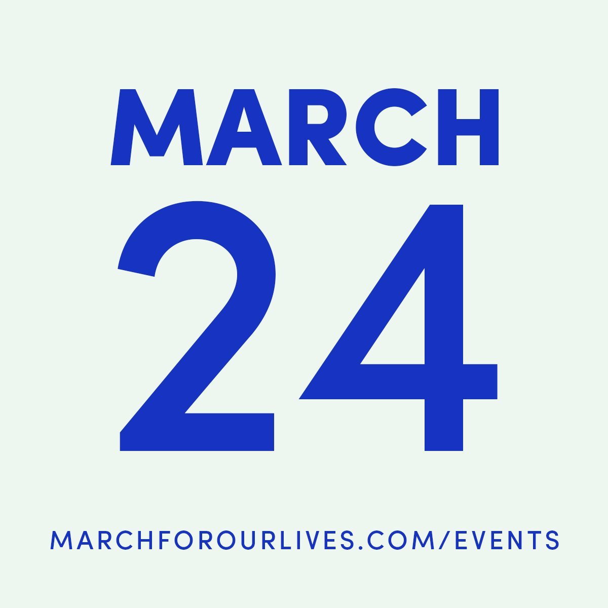 See if there's a #MarchForOurLives in your area. If there isn't, create your own: https://t.co/Q19R4qEAxA https://t.co/Yo936KSnV6
