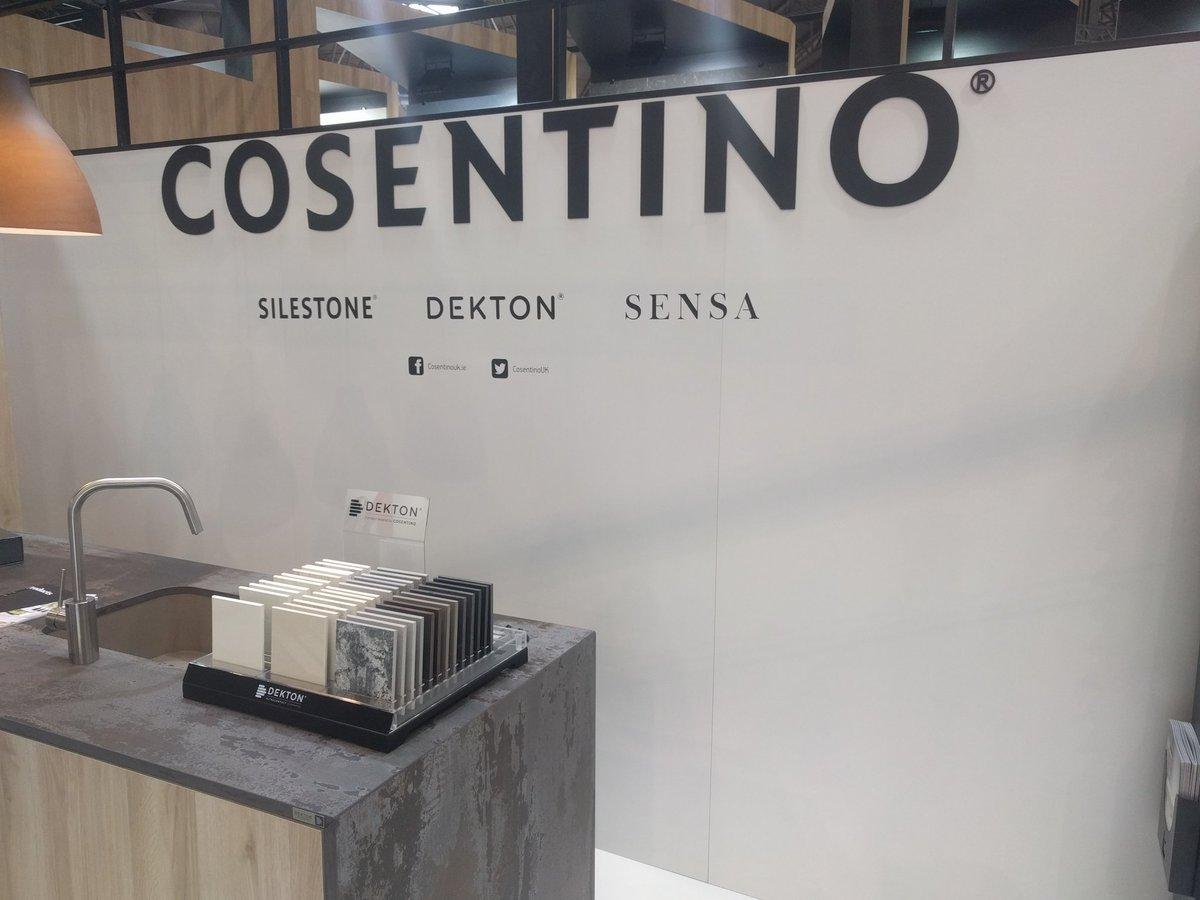 Visiting @Silestone today #KBB18 #interiordesign