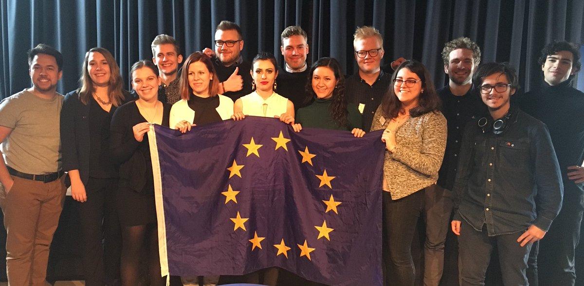 Velkommen til den nye bestyrelse! Vi takker af for et skønt #EULM 🇪🇺