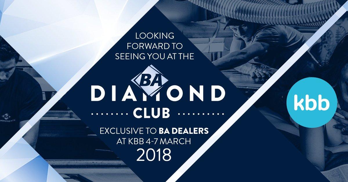 Who's coming to see us at the BA Diamond Club at #KBB2018?💎
