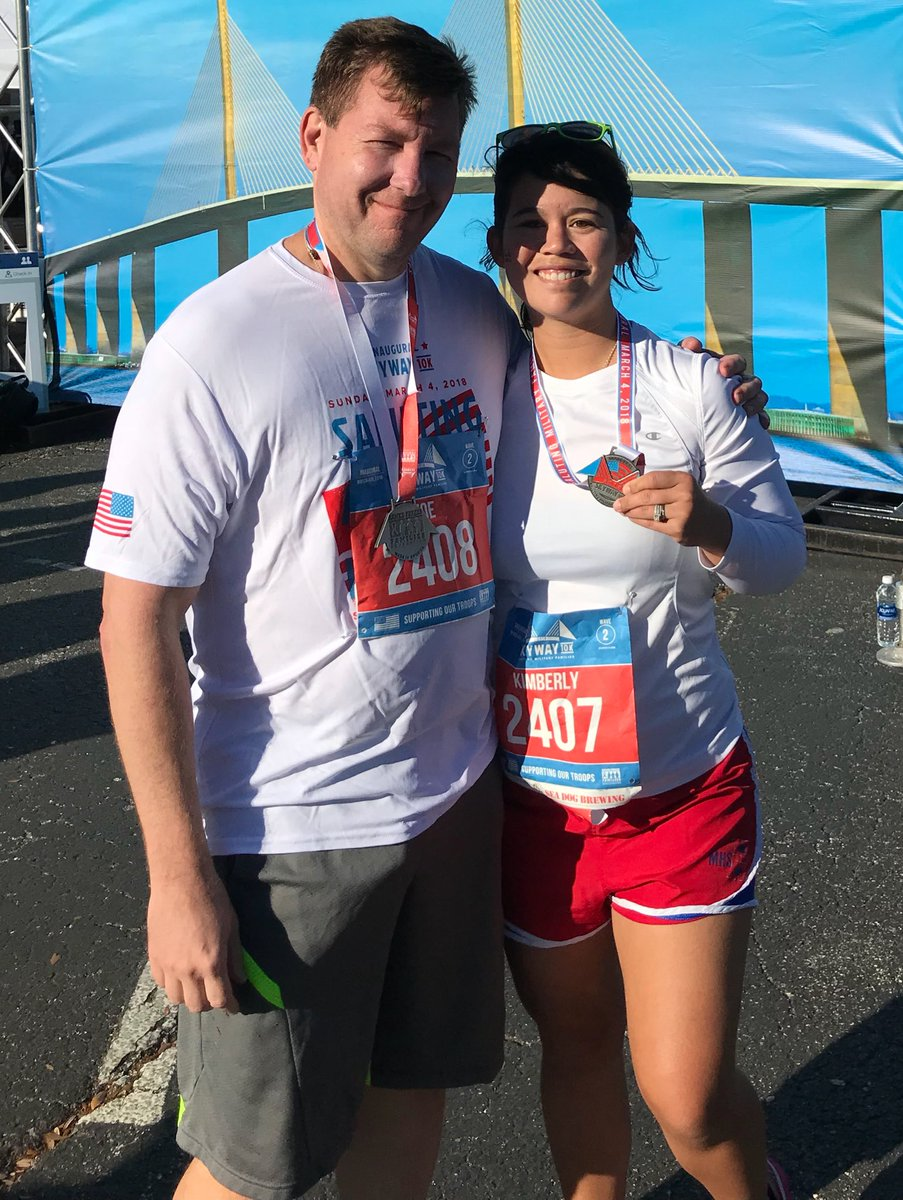 Finished! It was fun, tough and worth every single second! Thanks @Skyway10K for an amazing time. #WeDidIt