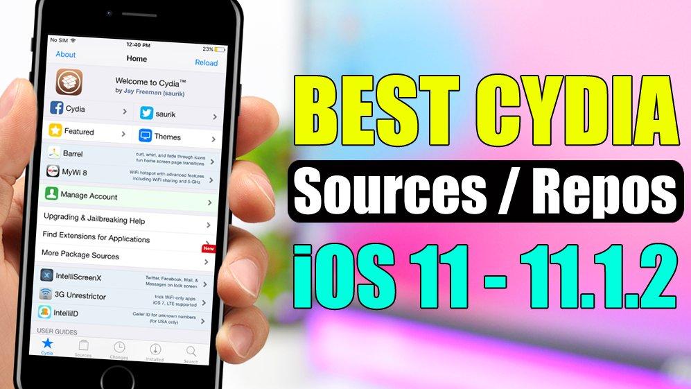 best cydia sources ios 11