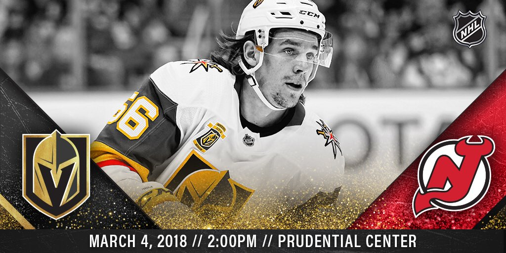 separation shoes f0905 a25f2 GDT: - Game 65: Vegas Golden Knights @ New Jersey Devils   2 ...