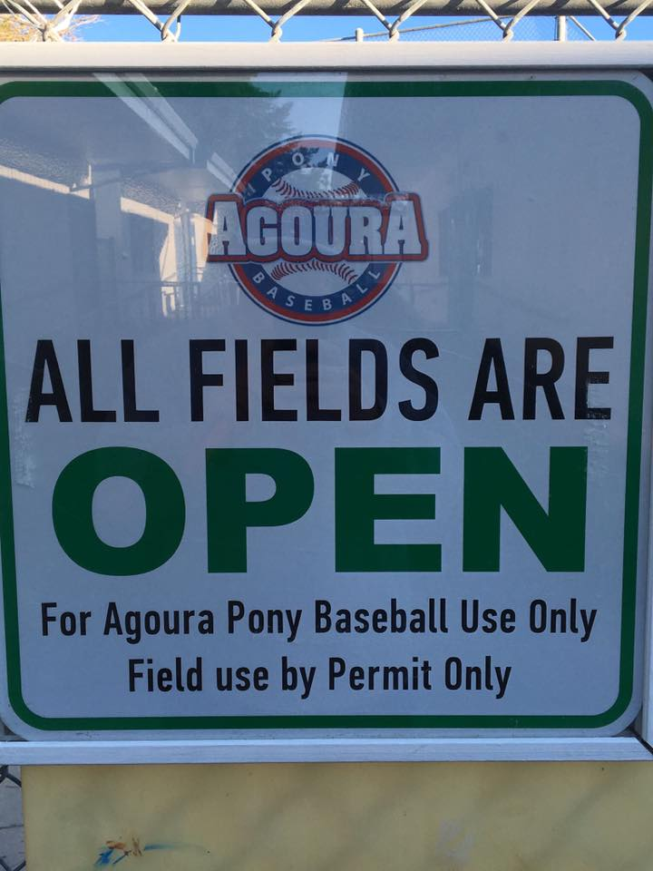 Agoura Pony Baseball On Twitter Lupin Fields Are Open Offsites