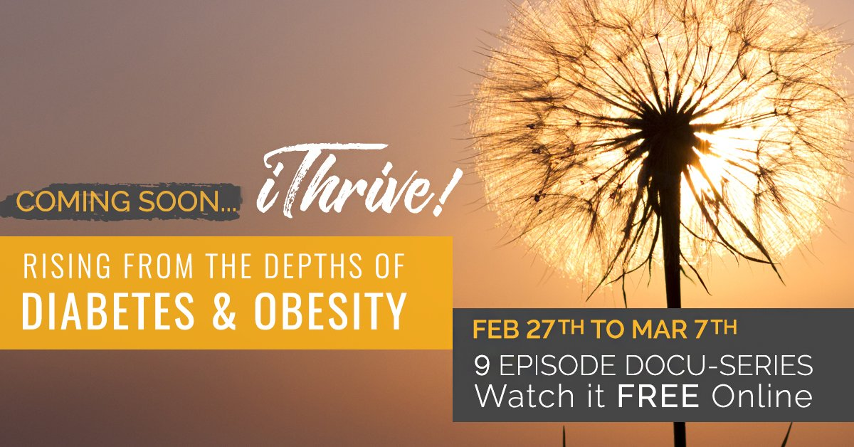 The medical community isn't telling you the whole truth about diabetes. Watch the video now! http://bit.ly/2t7HYn9   #ithriveseries