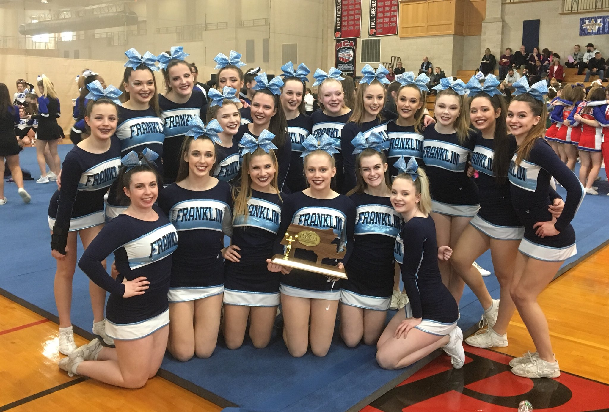 ...and here's your DIVISION 1 SOUTH REGIONAL CHAMPIONS!!! CONGRATS LADIES!! #ontostates #PantherPride