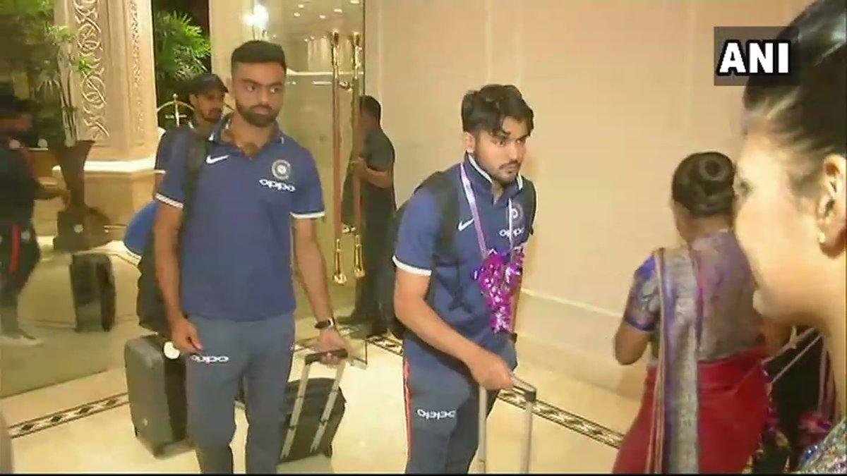 Image result for indian cricket team arrives in sri lanka