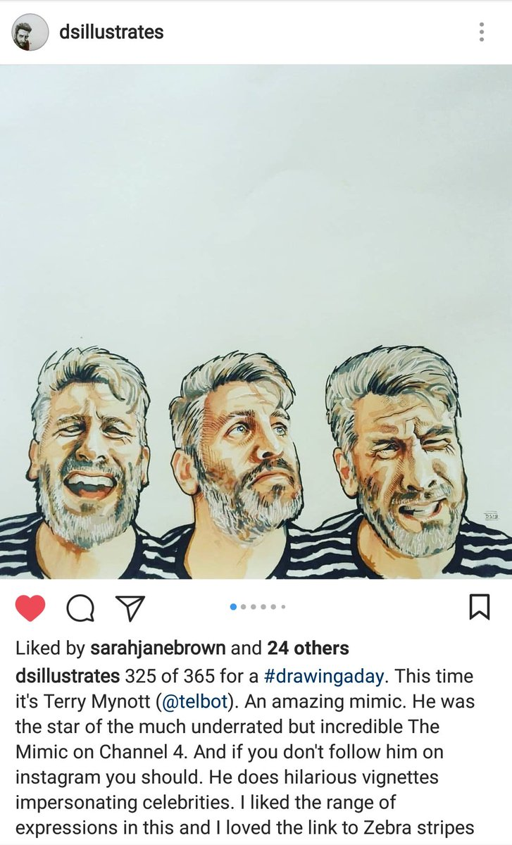Really pleased the Peter O'Toole stories are being enjoyed. Follow David Shakespeare to see more from @dsillustrates #penandink #portrait #illustration #art