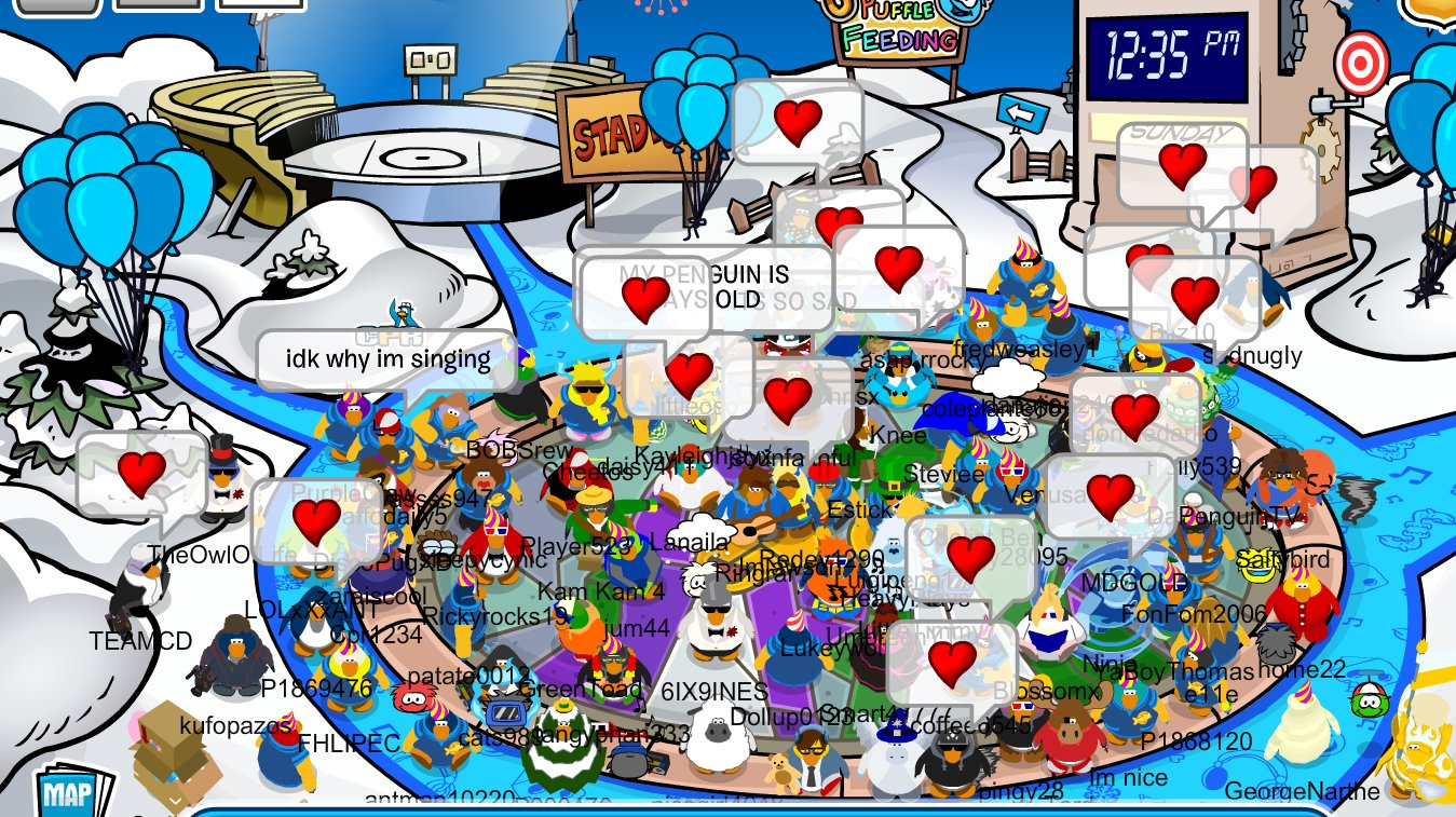 club penguin waddle around and meet new friends co uk