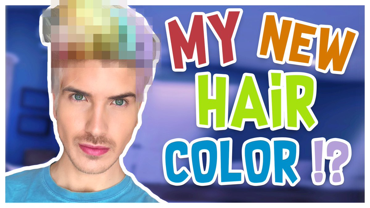 Joey Graceffa On Twitter I Dyed My Hair A Brand New Color