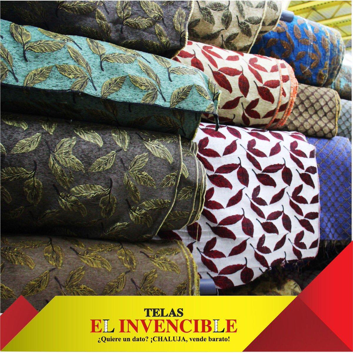 Telas el invencible on twitter en nuestras tiendas - Muebles para tapizar ...