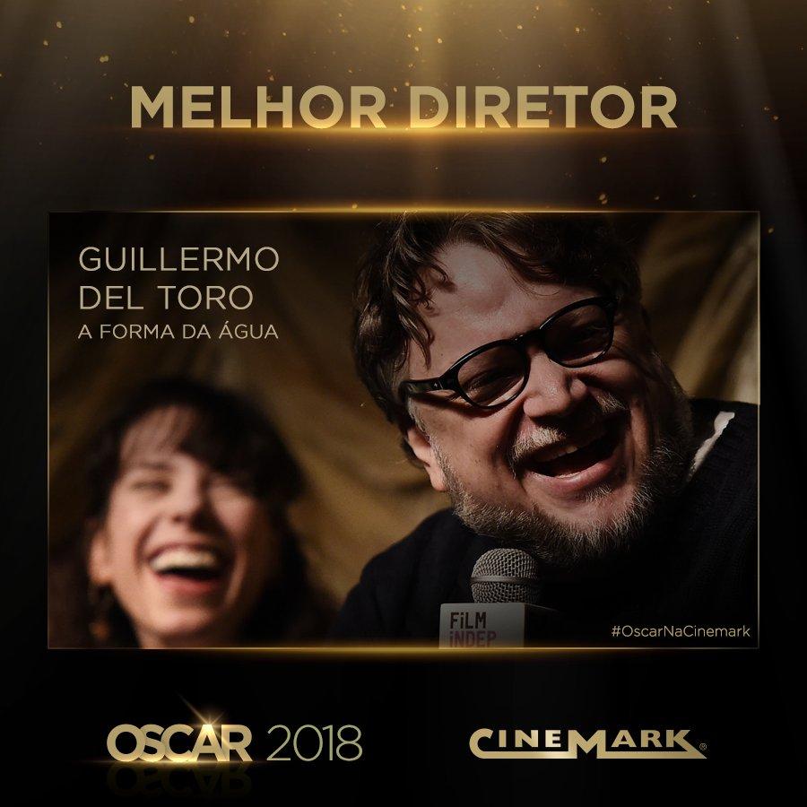 Melhor Diretor - Guilhermo Del Toro (A Forma da Água)