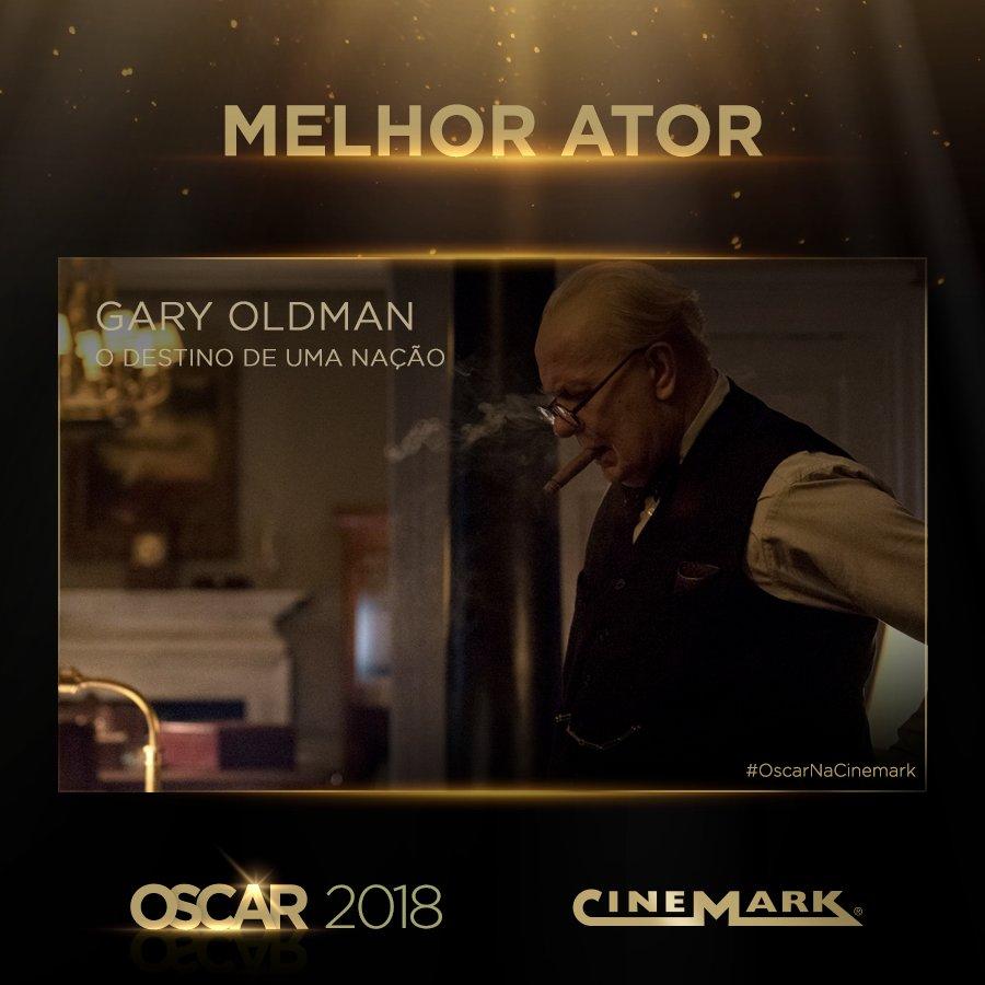 Melhor Ator - Gary Oldman (O Destino de uma Nação)