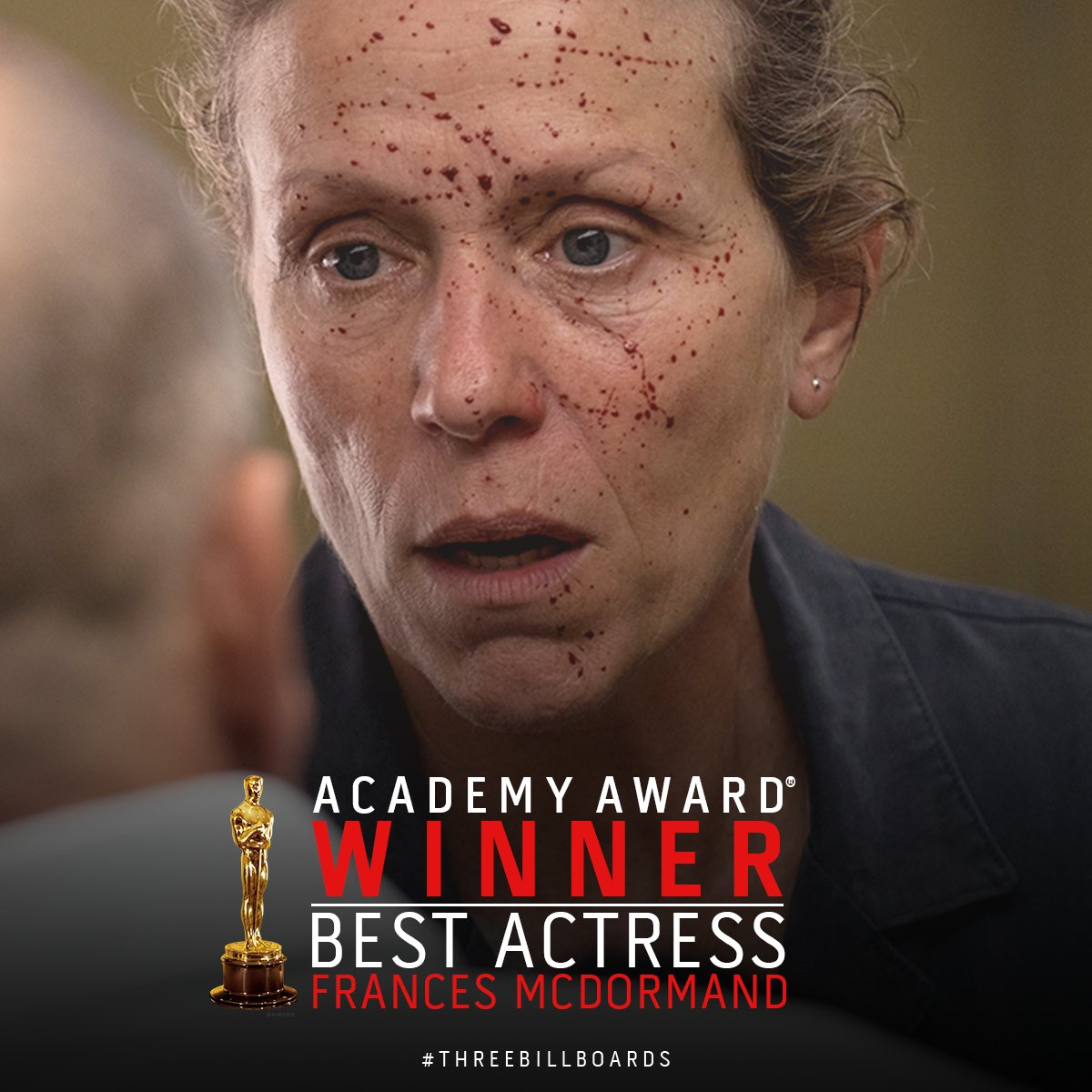 Blueprint pictures blueprintpics twitter look around ladies and gentlemen because we all have stories to share theacademy award winner for best actress frances mcdormand malvernweather