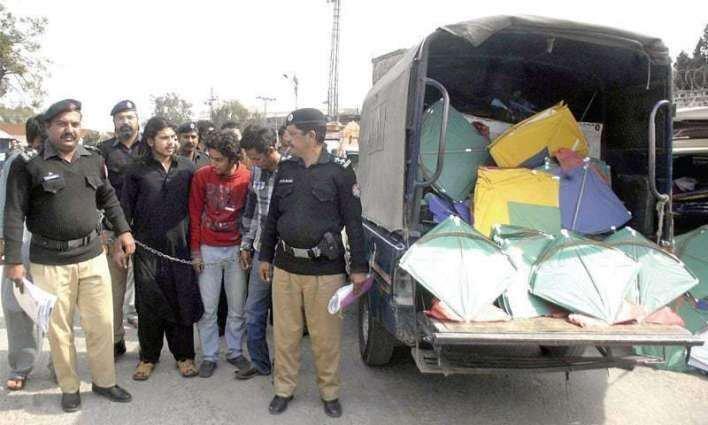 Pakistan in a nutshell. Kite-flyers jailed, terrorists freed