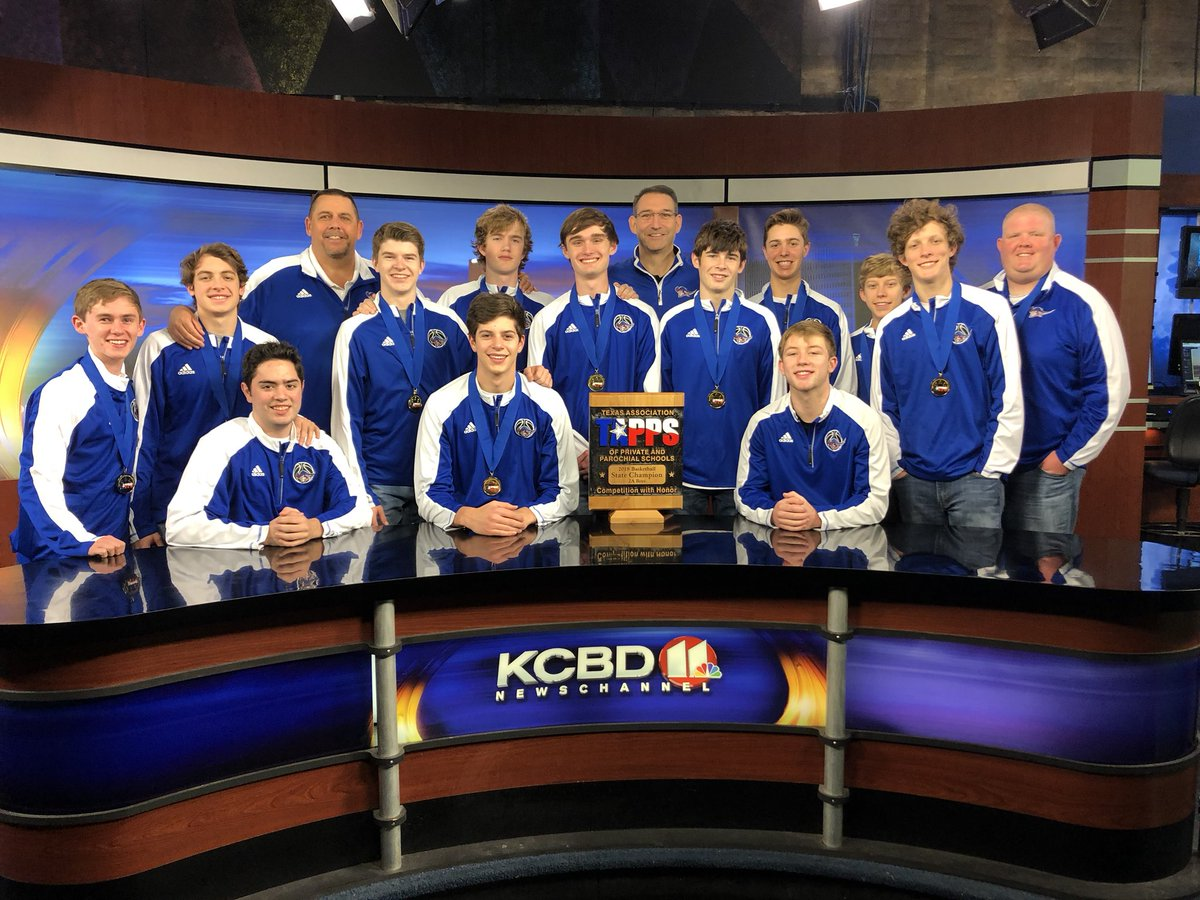 """Watch the State Champion All Saints Patriots on KCBD News Channel 11 tonight at 10:00 as they are Pete Christy's """"Team of the Week.""""@pchristy11 @AllSaintsPride @LoneStarVarsity @806hssc"""