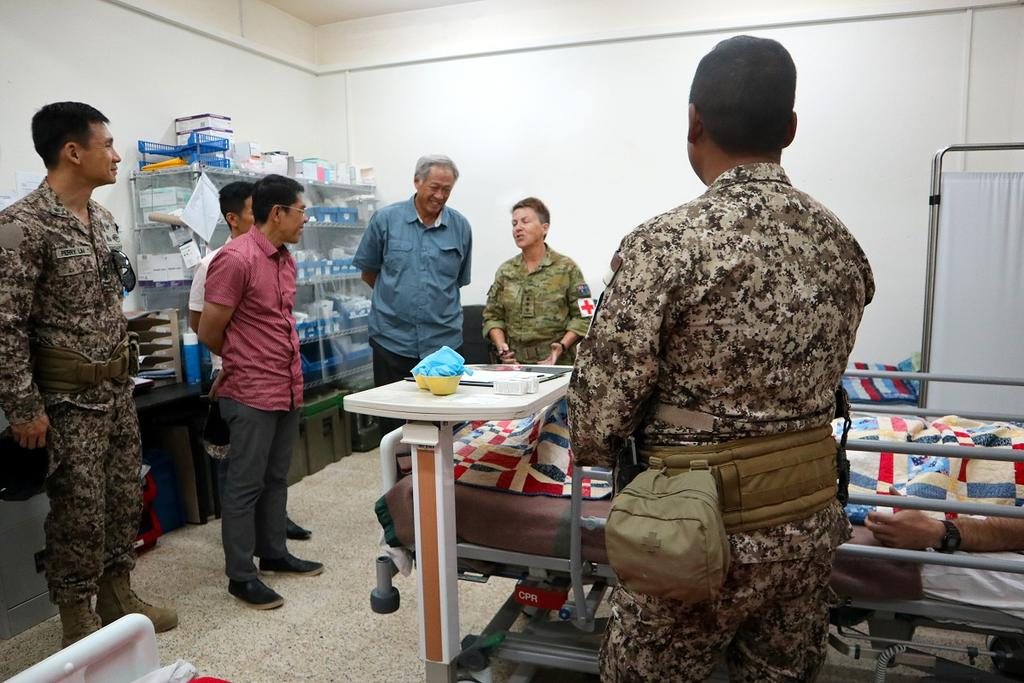 Grateful for Singapores participation in the global war  against terrorism. #strongertogether SAF troops to train Iraqi Security Forces in countering explosives, combat todayonline.com/singapore/saf-… @TODAYonline @Ng_Eng_Hen @USAsiaPacific @PacificCommand @DeptofDefense @MFAsg