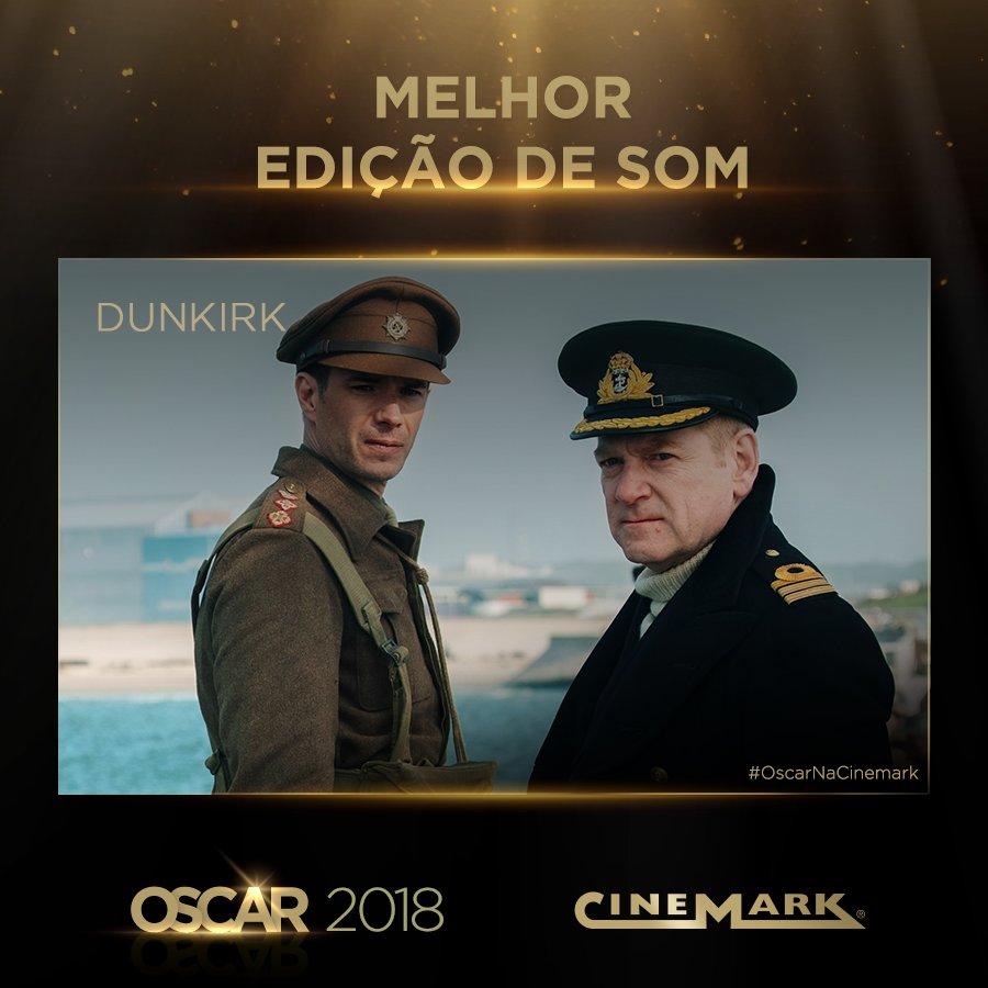 Melhor Edição de Som - Dunkirk