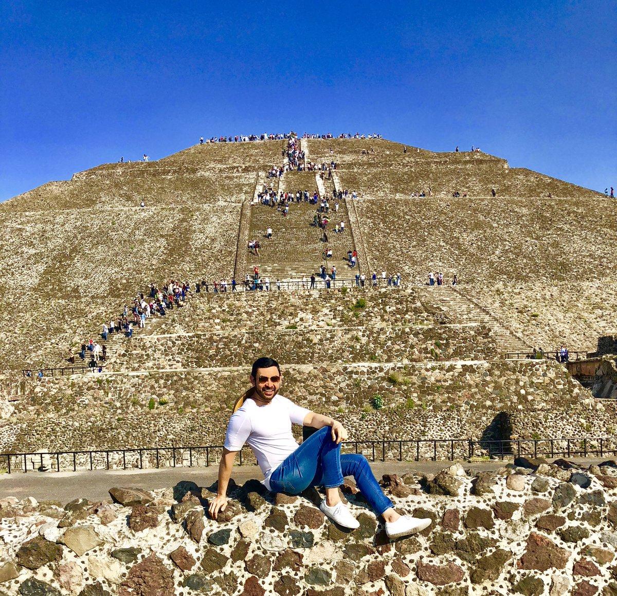 Que bello es mi México: Pirámide del Sol...
