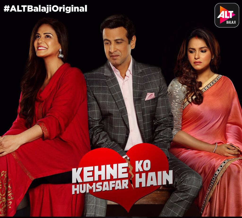 Kehne Ko Humsafar Hain, web series, poster, ronit Roy, Mona Singh, Gurdeep Kohli, images, pics, poster, picture, photos, hd