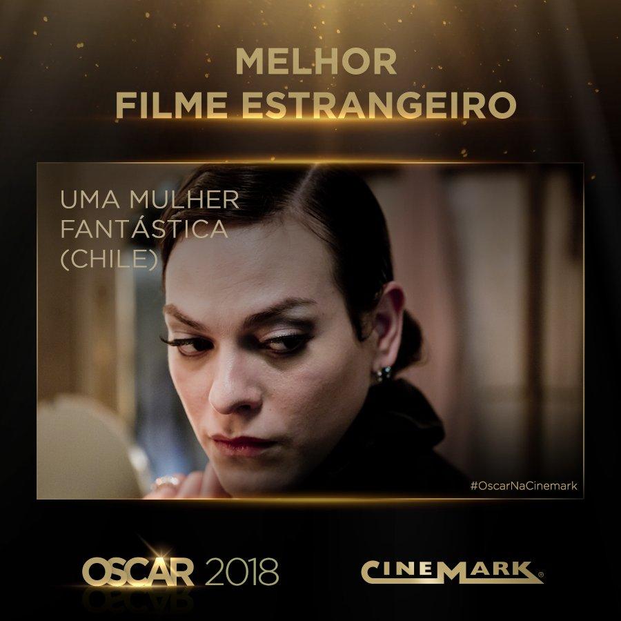 Melhor Filme Estrangeiro - Uma Mulher Fantástica (Chile)