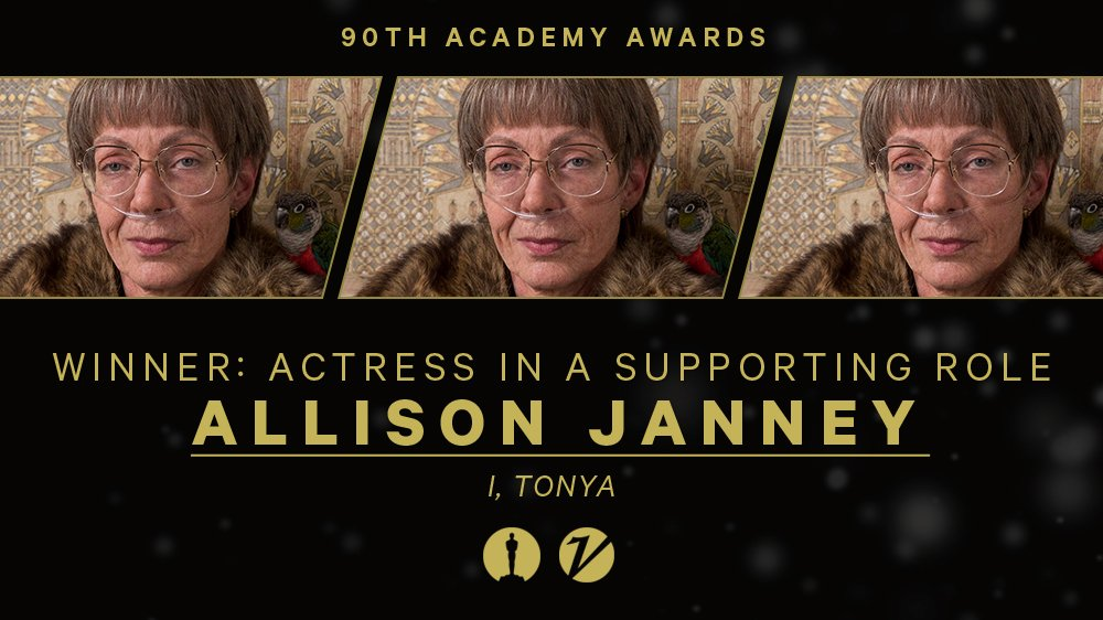 #Oscars: @AllisonBJanney wins best supporting actress for #ITonya https://t.co/gGUxhy6d5o