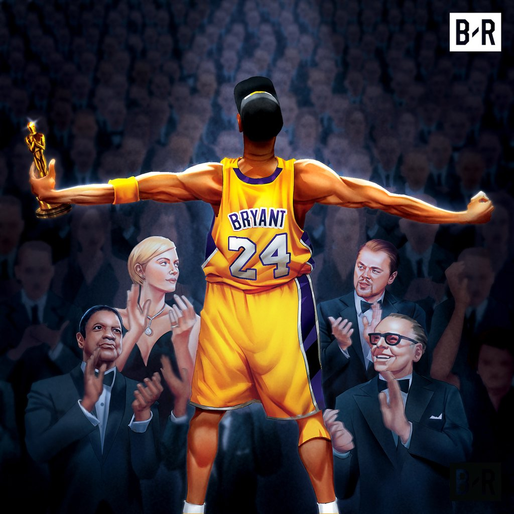 Kobe adds an Oscar to his legacy 👏