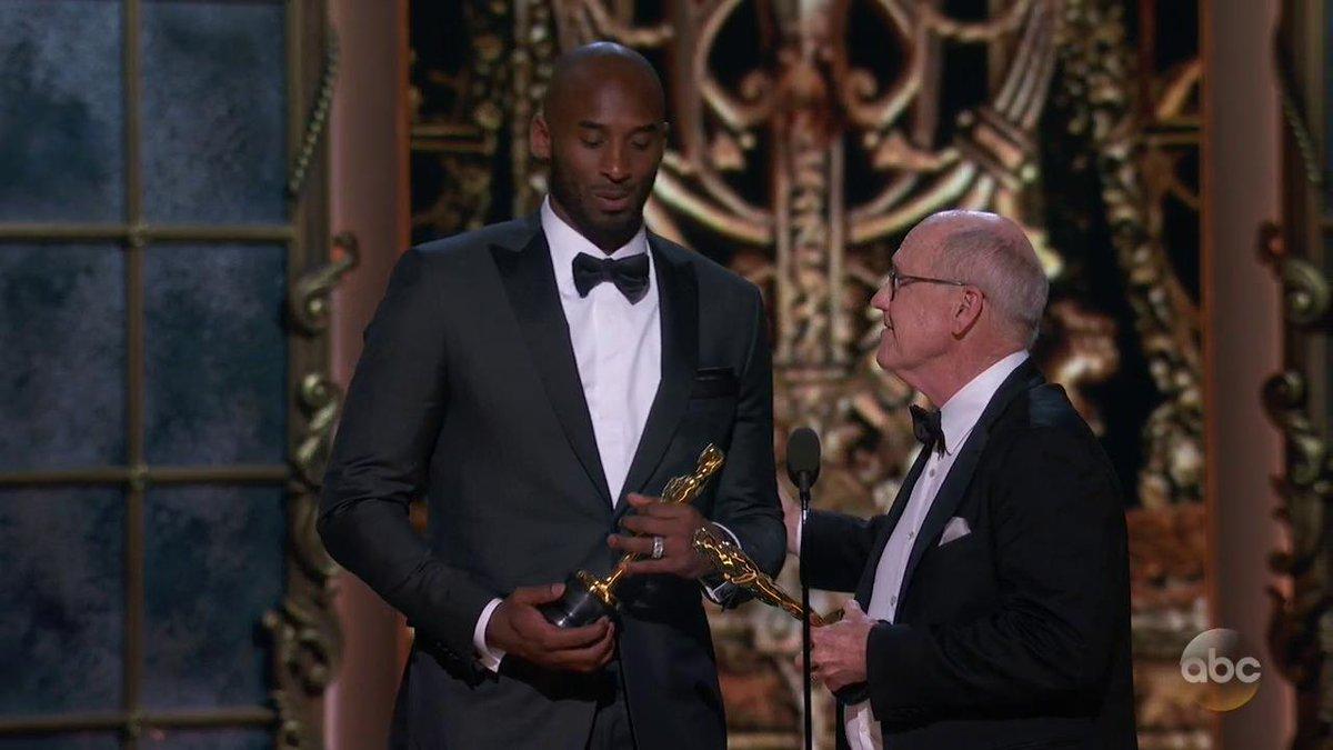 Oscars 2018: Yep, Kobe Bryant Just Won an Academy Award
