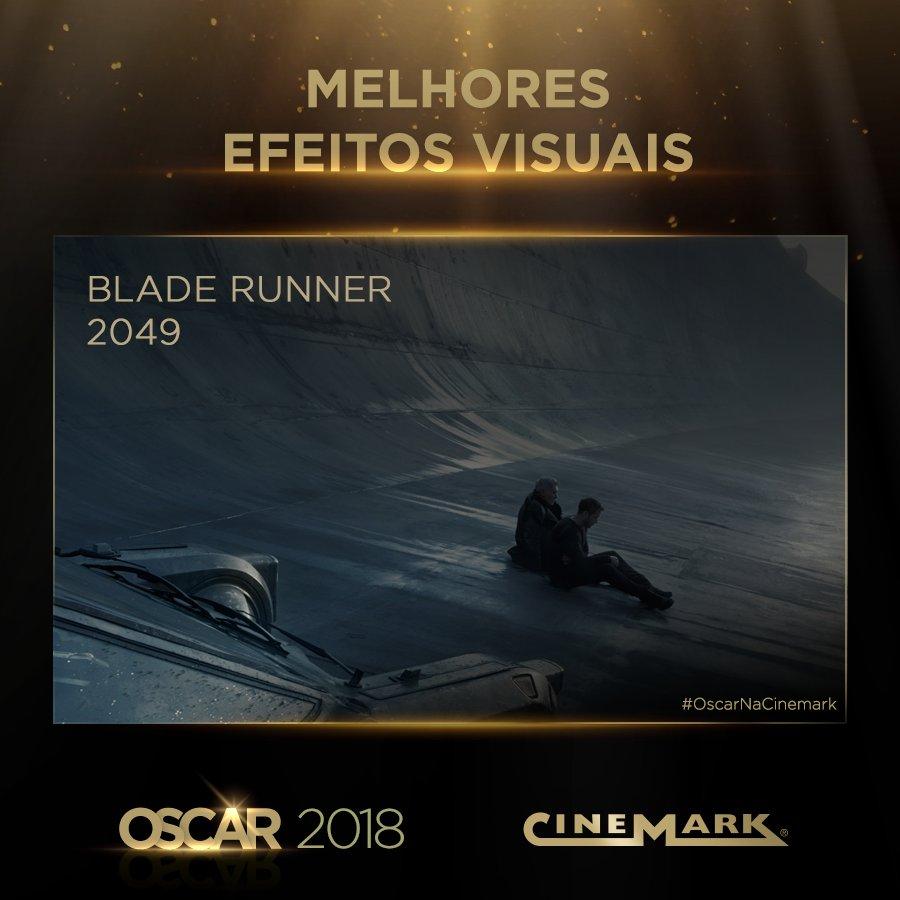 Melhores Efeitos Especiais - Blade Runner 2049