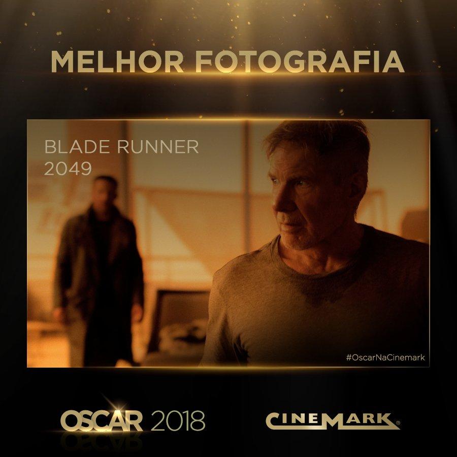 Melhor Fotografia - Blade Runner 2049