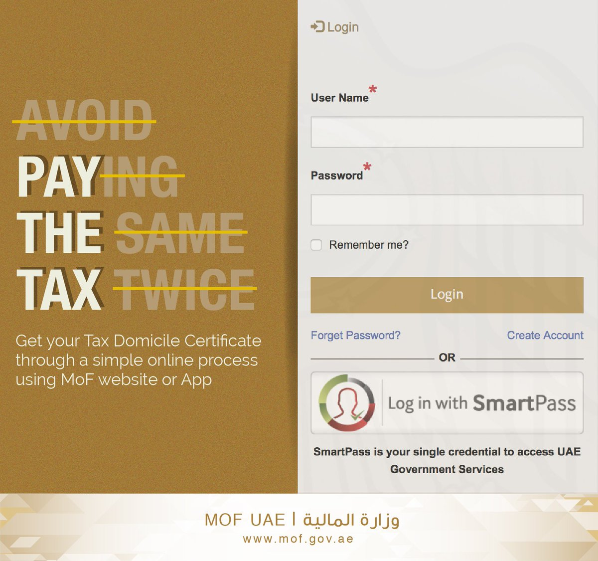Ministry Of Finance On Twitter Tax Domicile Certificate Is Issued