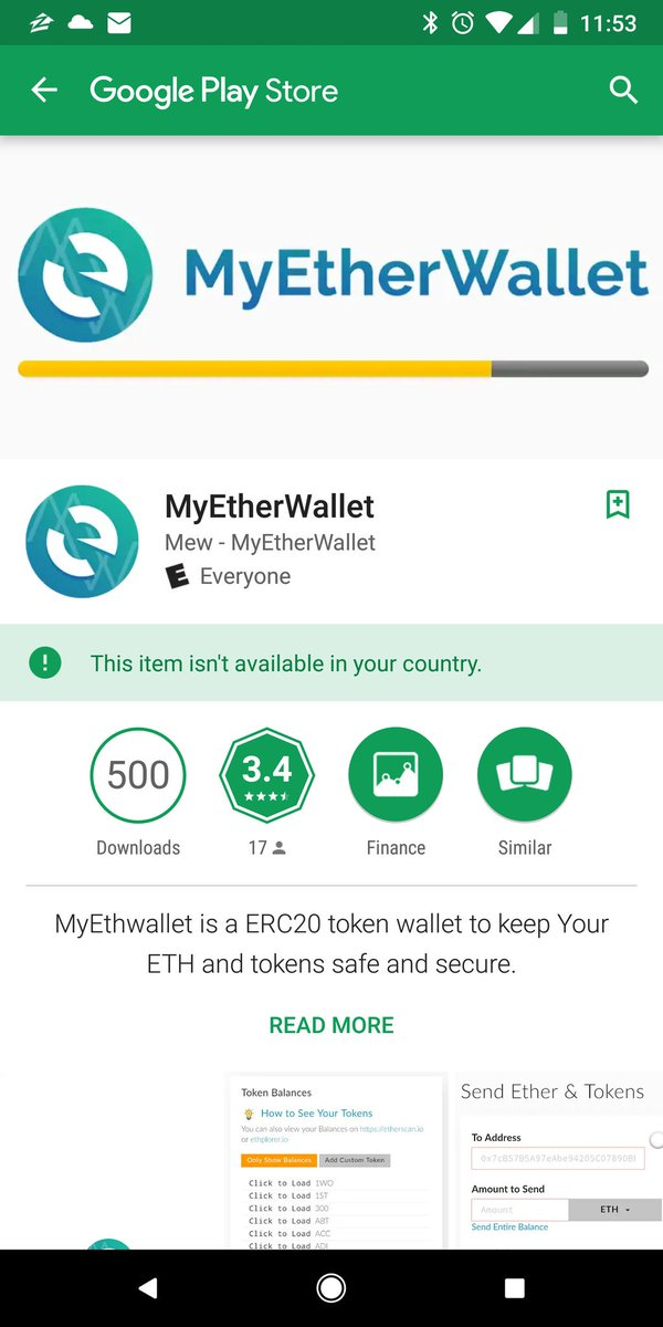 id=com.walletcrypt @GooglePlay please take it down before another 500 people get scammed
