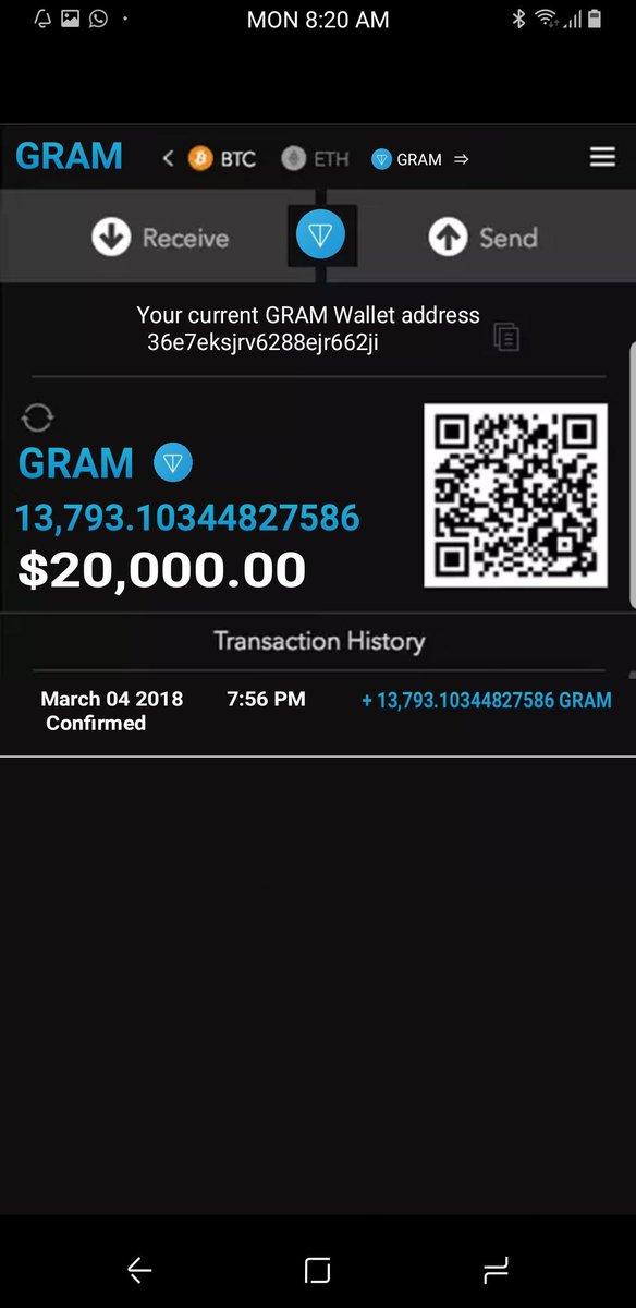 Telegram ICO (TON) (GRAM) (@teIegram_ICO) | Twitter