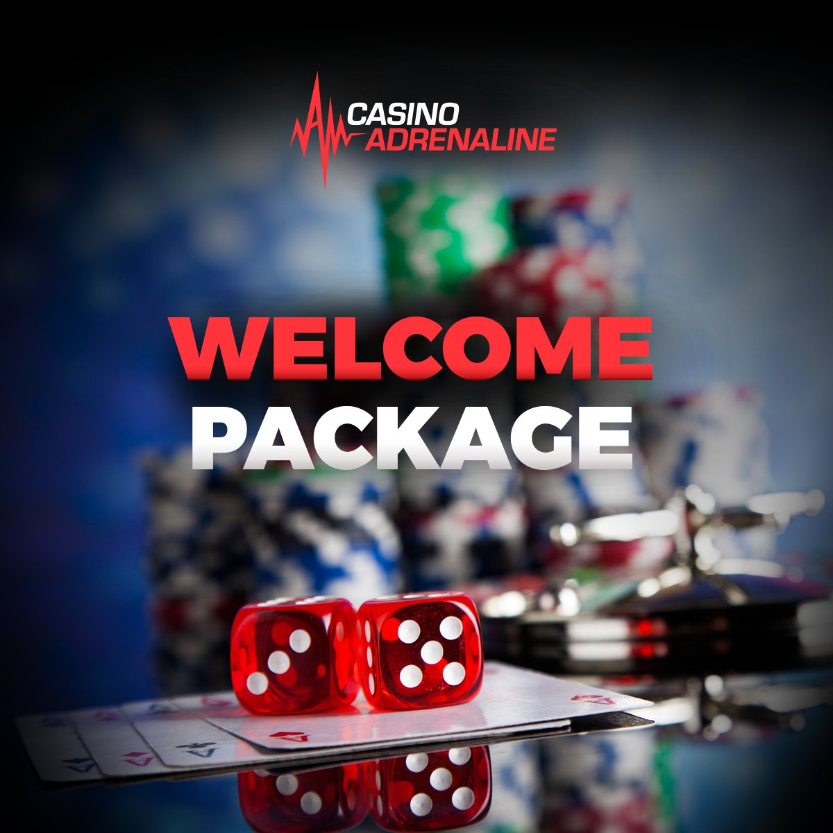test Twitter Media - If you're a new player, check out our welcome package! 😁 #CasinoAdrenaline #enjoythegame #welcomepackage https://t.co/RZQiTYjFVn
