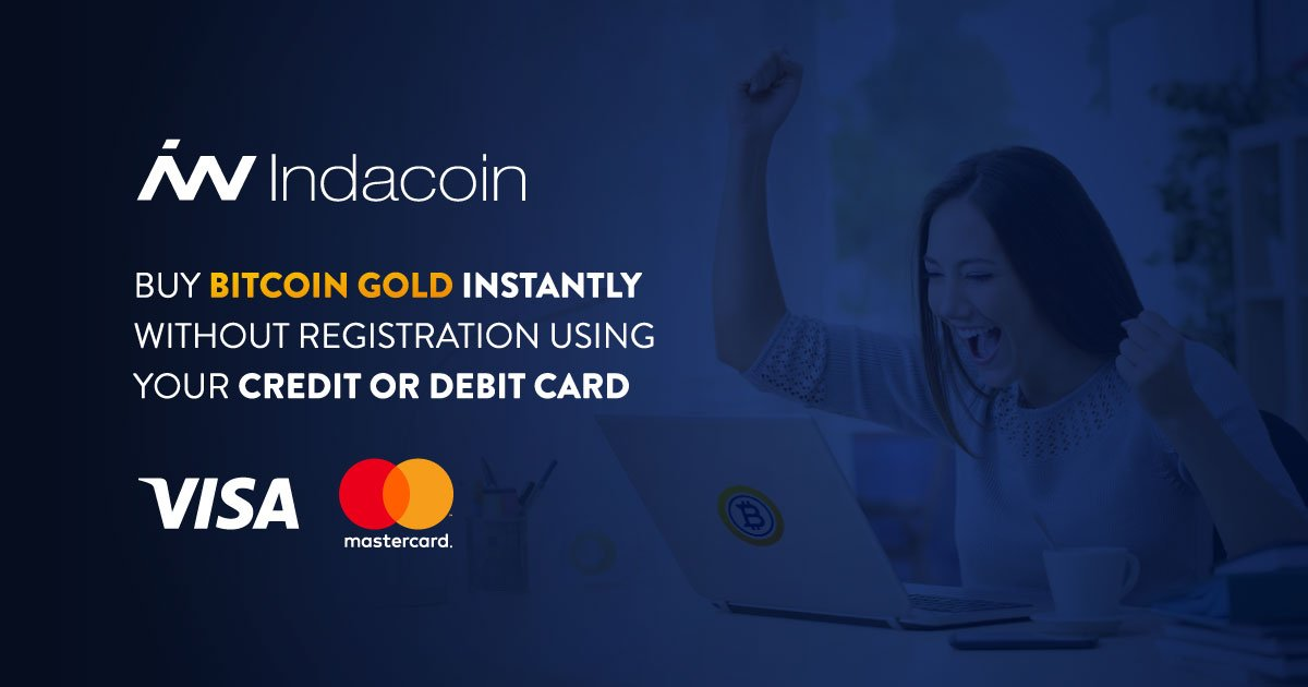 Bitcoin gold btg on twitter did you know that indacoin now lets 555 am 5 mar 2018 ccuart Images