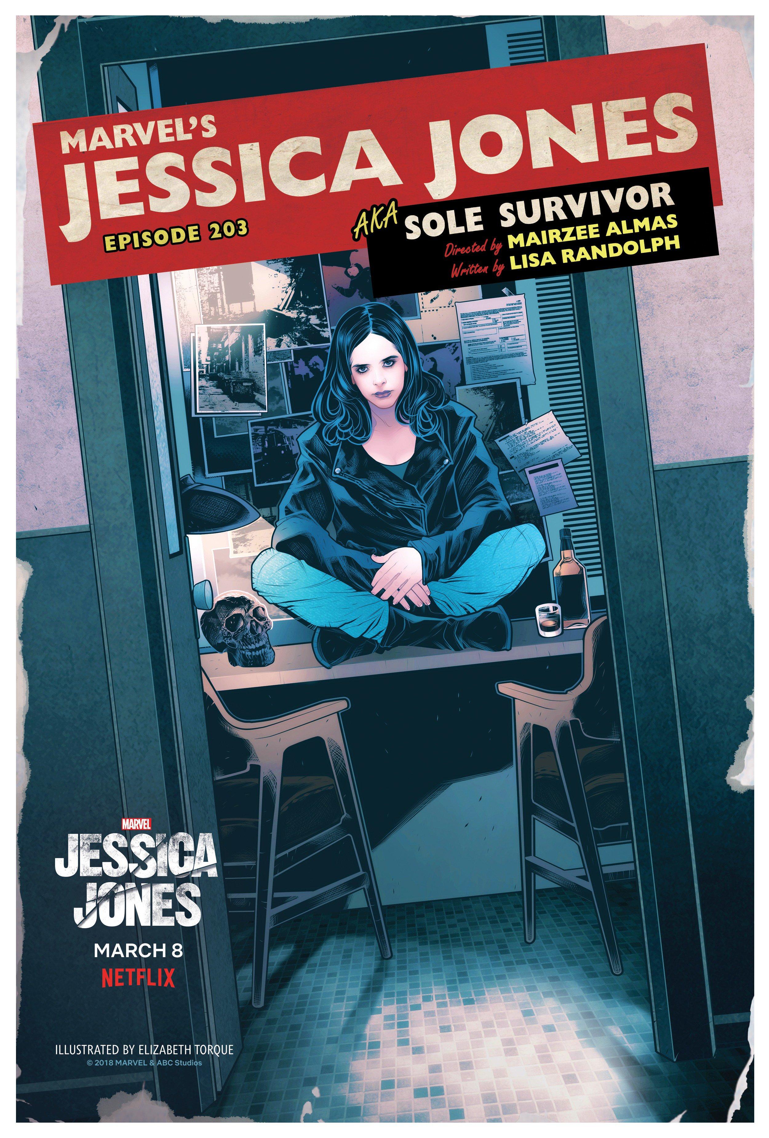 JESSICA JONES: Netflix Reveals Season 2 Episode Titles