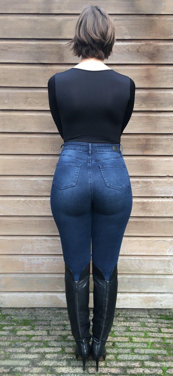 Tight pants hot ass well, that