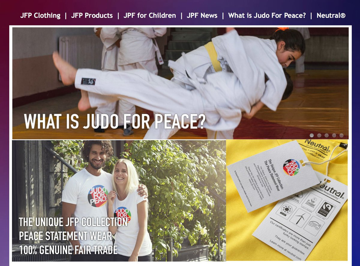 Judo On Twitter Judo For Peace Webshop Launched Https T Co F8zu1grxxs Jfp Is A Movement An Action Plan Open For Anyone Wanting To Do His Her Bit For World Peace By Purchasing Any Of