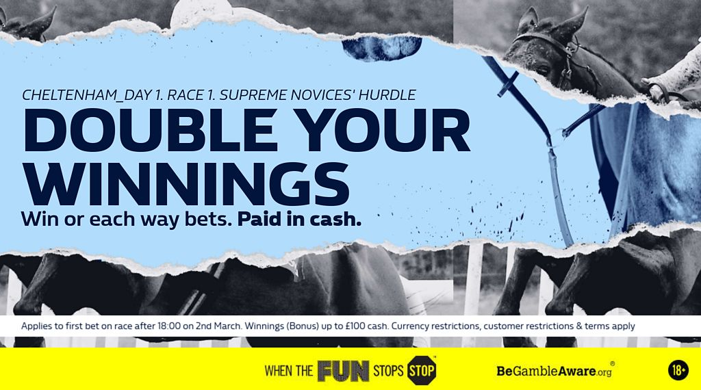 William Hill Cheltenham Offer